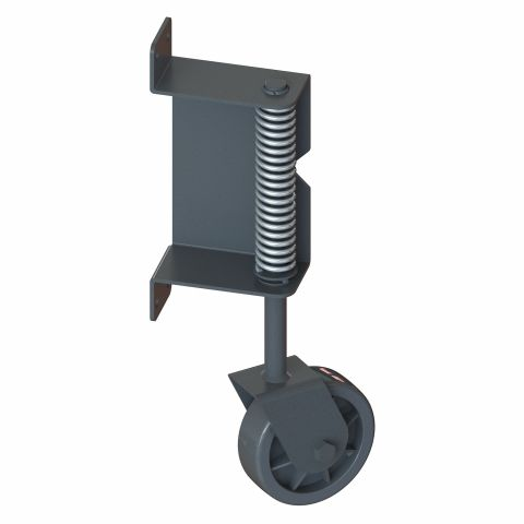 Nationwide Industries Spring Loaded Swivel Gate Wheels for Wood Gates