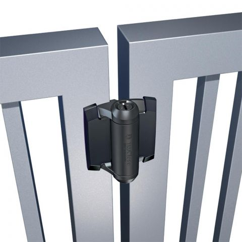 D&D Technologies Tru-Close Series 3 Regular Duty Hinges for Metal Gates - No Legs