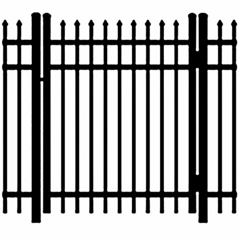 Ideal Maine #203 Aluminum Single Swing Gate - Standard