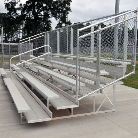 Deluxe 5 Row Bleachers