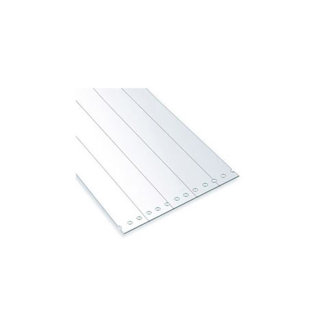 Chase Doors Bulk Rolled PVC Strips - USDA Low-Temp Reinforced Clear Material
