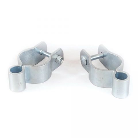 """Tarter 1-3/4"""" Galvanized Female Strap Hinge Fits 5/8"""" Pin - Includes (1) Carriage Bolt and (1) Hex Nut"""