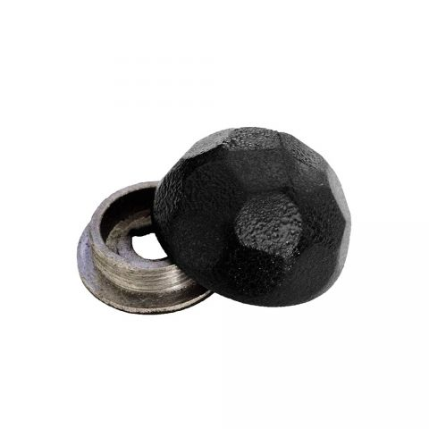 OZCO Building Products Hammered Dome Cap Nut - Pack of 10