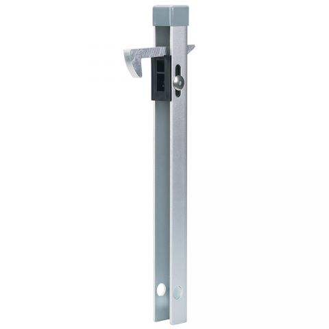 Locinox Gate Hold Back Catch, Hot Dip Galvanized