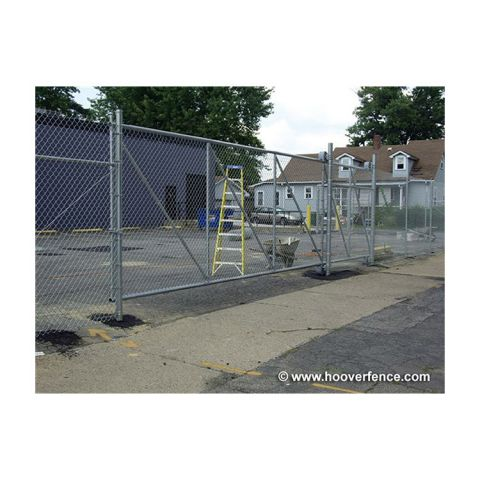 Hoover Fence Chain Link Fence Steel Cantilever Slide Gate Kits