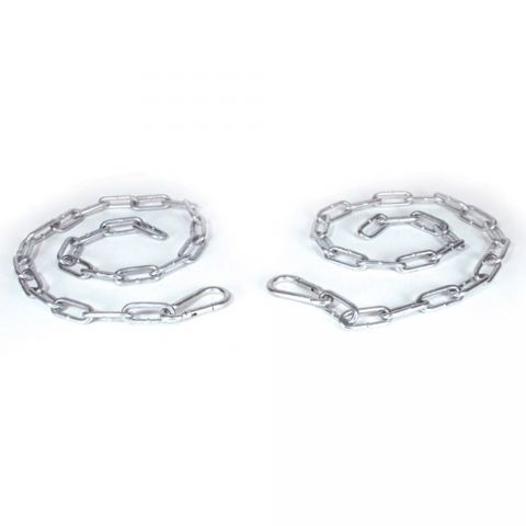 """Tarter 32"""" Heavy-Duty Galvanized Snap Chain w/ D-ring - Sold Individually"""