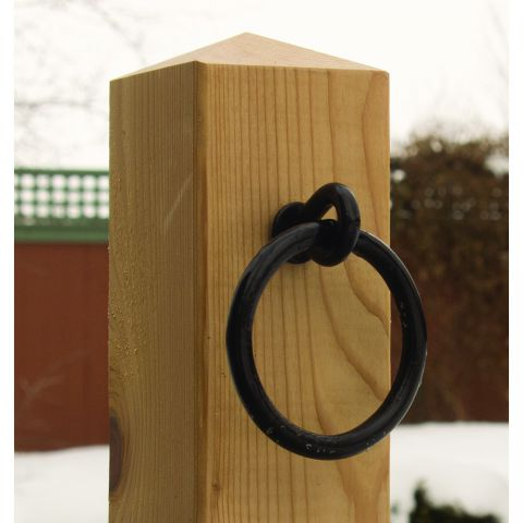 Snug Cottage Hardware Hitching Post Ring on Screw
