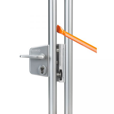 Locinox Chain Link Fence Swing Gate Lock Kits