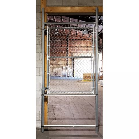 Hoover Fence Pre-Hung Chain Link Fence Gates