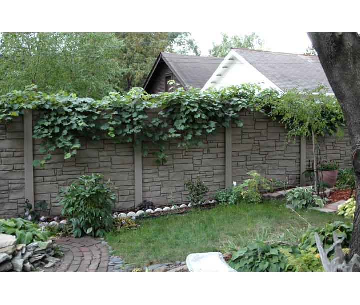 Simtek Ecostone Plus Vinyl Fence Sections Hoover Fence Co
