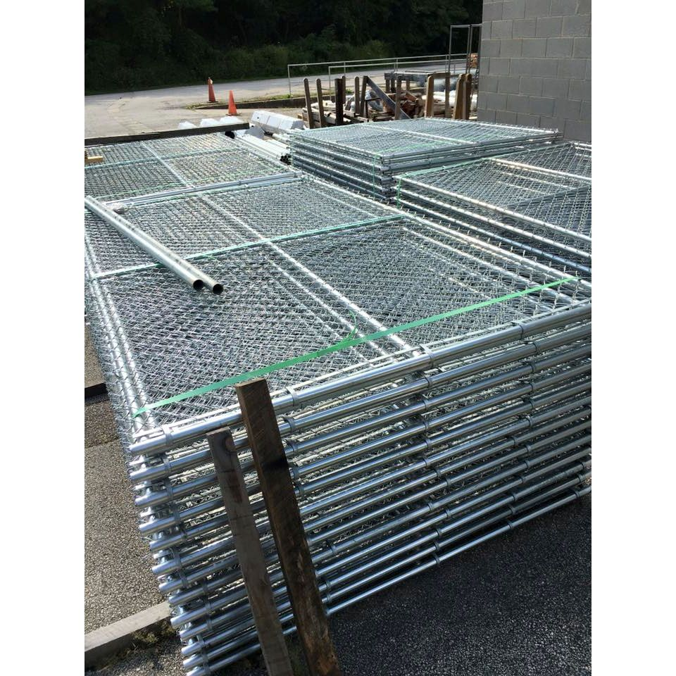 Hoover Fence Chain Link Temporary Fence Panels Hoover