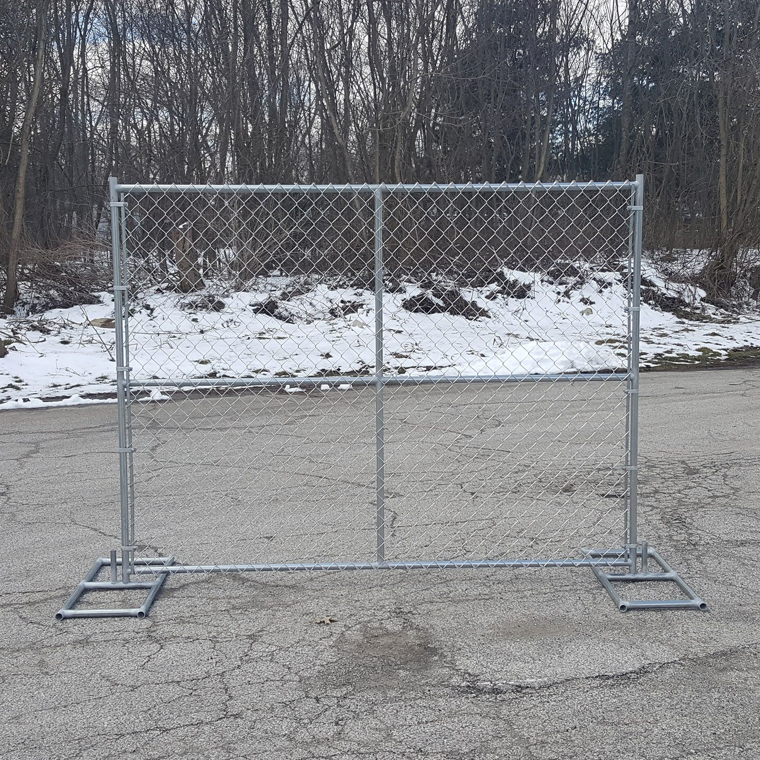 Hoover Fence Chain Link Temporary Fence Panels