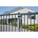 Locinox VERTICLOSE-STD Heavy-Duty Door or Gate Closer for 180° Swing Situations Installed with GMBU4D Hinges