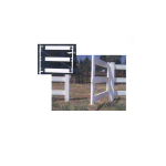 Jewett-Cameron Single Post and Rail Fence Gate Frame (AG-22006-P)