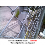 Nationwide Industries Roll Gate Track Guard (CL-RGTG)