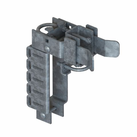 Nationwide Industries GateShare Latch - Multi-Lock Latch - Double Drive Gate