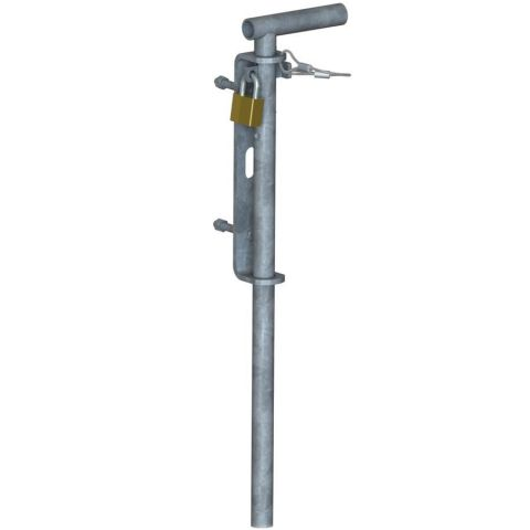 Drop Rod Latch For Double Chain Link Fence Gates 1 5 8