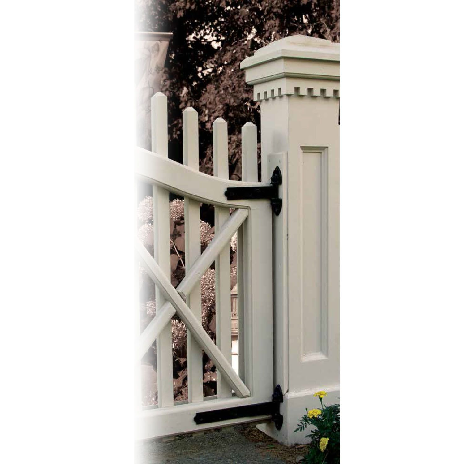 Snug Cottage Hardware Old Fashioned Heavy Duty Hinges for Wood Gates on home with cedar fence, concrete fences and gates designs, house fence and gate designs, philippines fences and gates designs, wooden gate designs, garden fences and gates designs, modern concrete home designs,