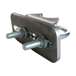 Lockey USA Edge Jamb Mounted Gate Stop - Side View