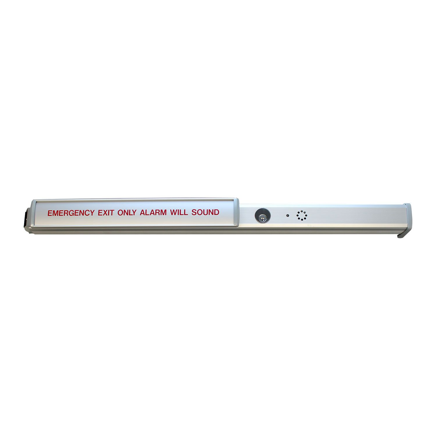 Lockey USA High Security Alarmed Panic Bar PB2500-ALARM - Interlocking Latch & Strike