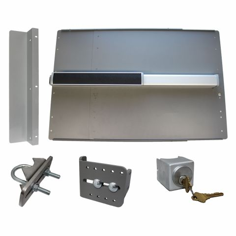 Lockey USA PS-2500 Edge Safety Panic Bar Kits for Gates