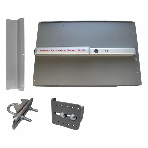 Lockey USA PS-2500-ALARM Edge Value Panic Bar Kits for Gates