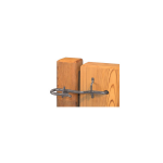 Snug Cottage Hardware Cape Code Latch for Wood Gates (4900-002)