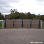 PVC Privacy Slats for Chain Link Fences - Lock-Top Style (PRIVACY-SLAT-LOCK-TOP)