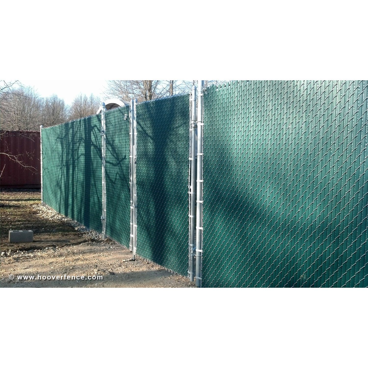 Chain Link Fence Slats Winged Style Hoover Fence Co