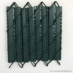PVC Privacy Slats for Chain Link Fences - Winged Style (PRIVACY-SLAT-WINGED)
