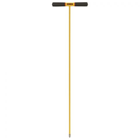 "Seymour Structron S600 Power Soil Probe, 48"" Fiberglass ProGrip Handle"