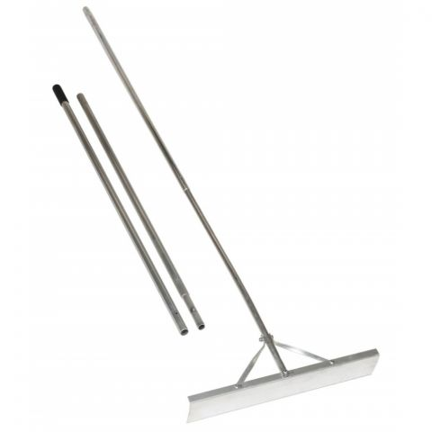 Seymour Seymour S500 Industrial Aluminum Roof Rake - 3 Piece Handle