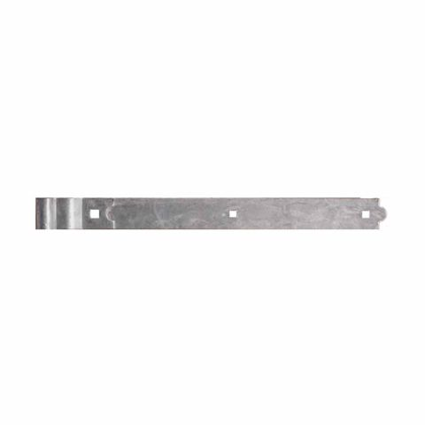 Snug Cottage Hardware Heavy Duty Cranked Strap Hinge for Wood Gates, Pair