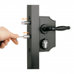 Locinox LAKQH2 Ornamental Gate Lock Bolt Adjustment