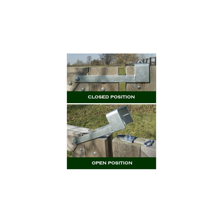 Snug Cottage Hardware Throw Over Gate Loop Latches For