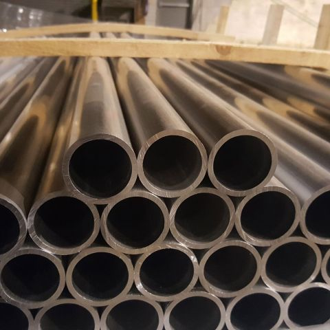 Sch40 Round Chain Link Fence Posts and Pipes, Aluminum