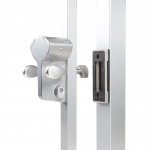 Locinox LLKZV2 Leonardo Mechanical Code Sliding Gate Lock with SSKZ-QF