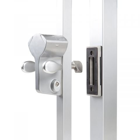 Locinox Leonardo Mechanical Code Sliding Gate Lock Kits - LLKZV2