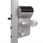 Locinox LMKQV2 2-Sided Vinci Mechanical Code Lock - Silver Finish