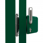 Locinox LSKZU2 Sliding Gate Lock and SSKZ-QF Closed