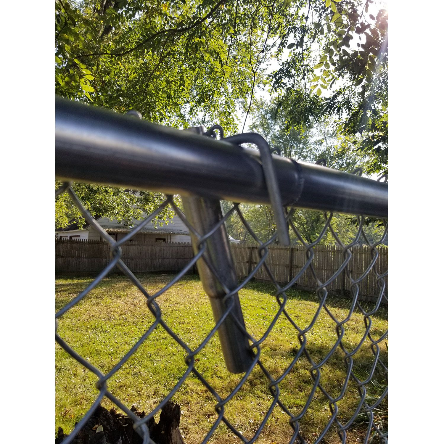 The Grunt Chain Link Fence Lift Pair Hoover Fence Co