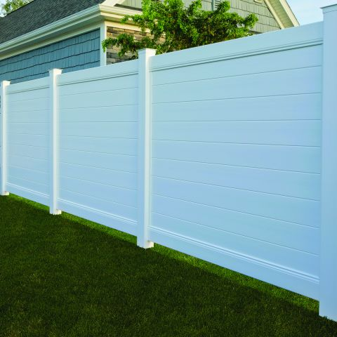 Bufftech Brookline Vinyl Fence Sections