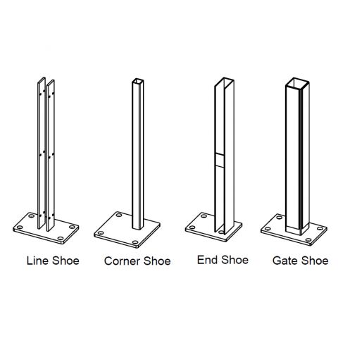 Bufftech Concrete Surface Mounting Brackets