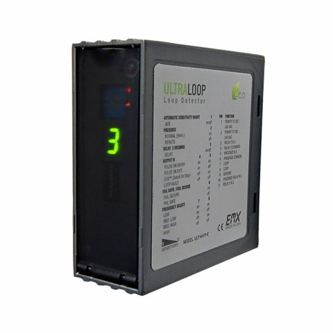 EMX Two Channel Multi-Voltage Vehicle Loop Detector