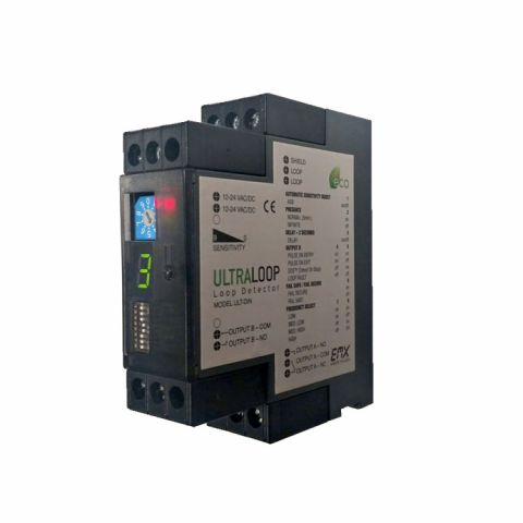 EMX DIN Rail Mount Vehicle Loop Detector