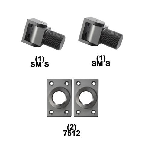 D&D Technologies SureClose Hinge Kit - SM S