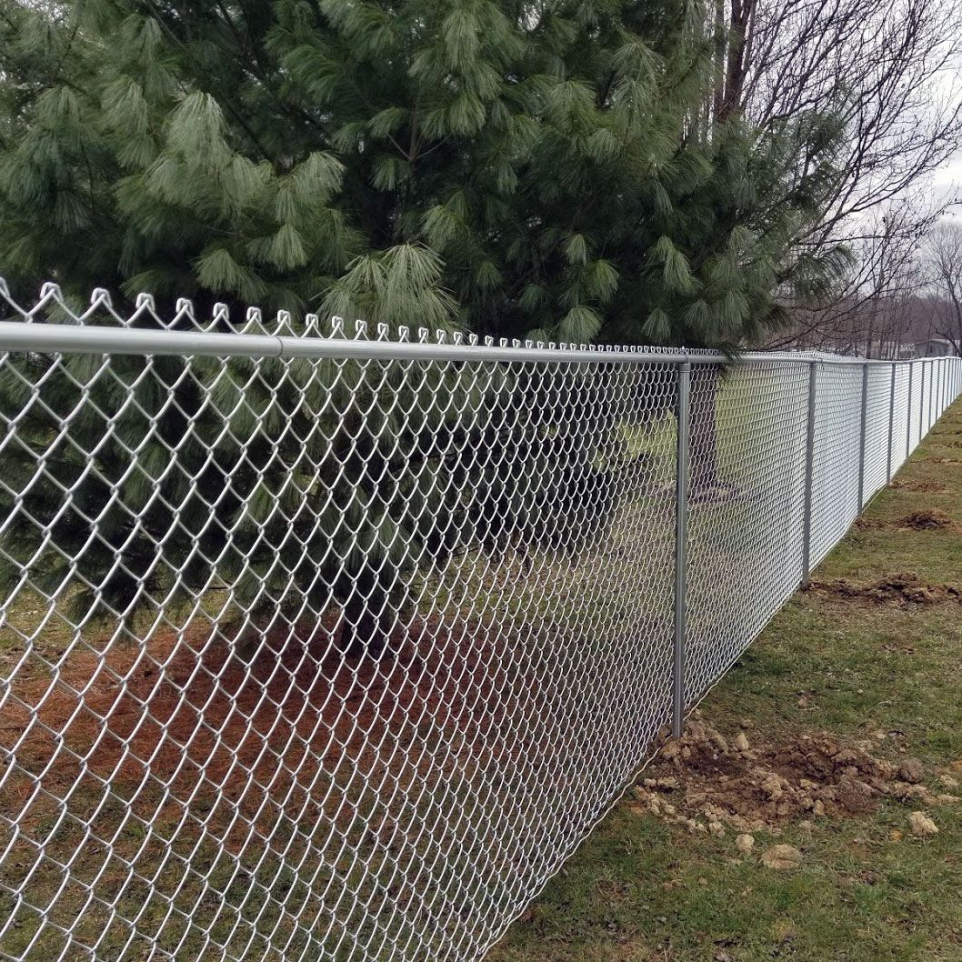 High Point Lacrosse >> Galvanized Chain Link Fence Kit - Includes All Parts ...