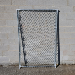 Hoover Fence Chain Link Kennel Panels - Heavy Grade