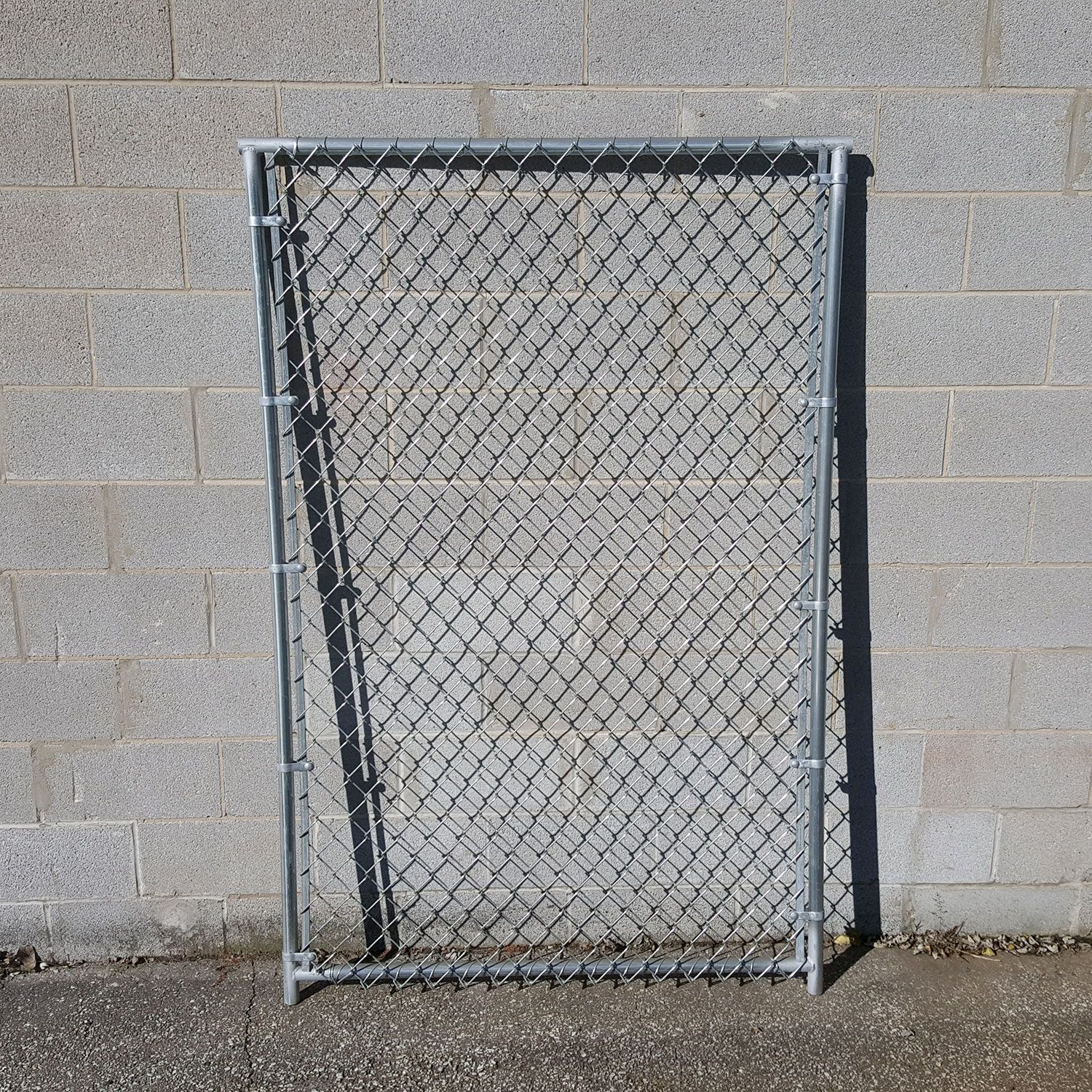 Hoover Fence Chain Link Kennel Panels - Heavy Grade - HF20 Frame w/ 9 ga. Fabric