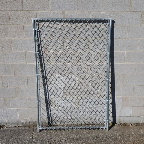 Hoover Fence Chain Link Dog Kennel Panels - Heavy Grade - HF20 Frame w/ 9 ga. Fabric